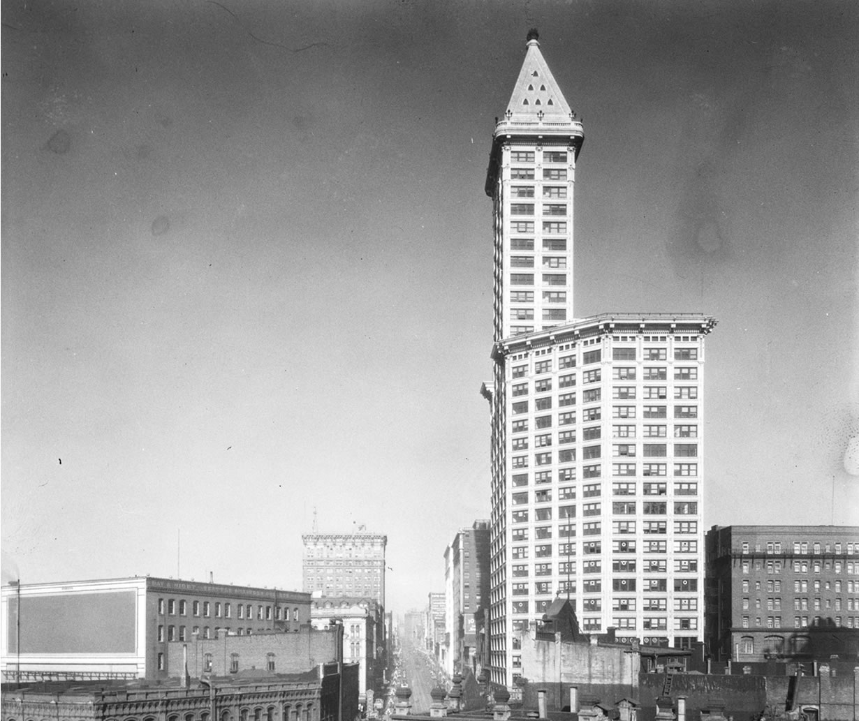 Smith Tower vintage photo